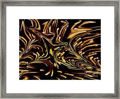 Fireart Framed Print