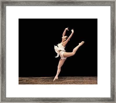 Firebird Ballet Position Framed Print