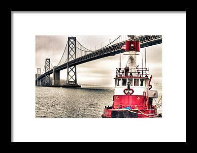Fireboat Framed Prints