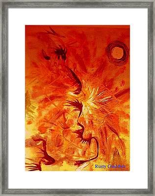 Firebrand Framed Print