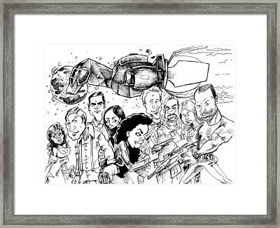 Firefly Framed Print by Big Mike Roate