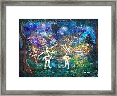 Firefly Frolic Framed Print by Patricia Allingham Carlson