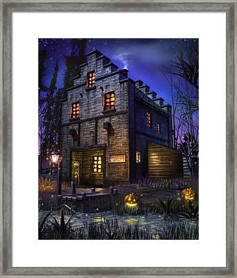 Firefly Inn Framed Print