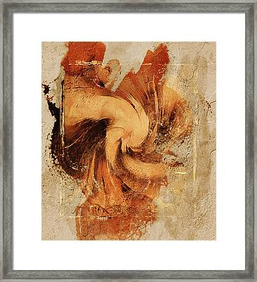 Firefly Urban Abstract Framed Print