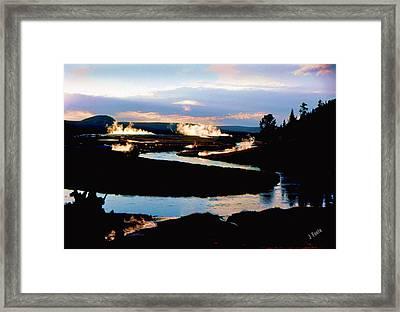 Firehole River 2 Framed Print