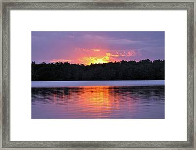Framed Print featuring the photograph Sunsets by Glenn Gordon