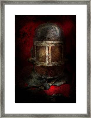 Fireman - The Mask Framed Print by Mike Savad
