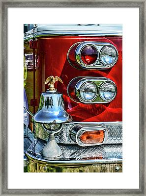 Fireman -this Is My Fire Bell Framed Print