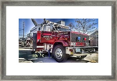 Firemen Honor And Sacrifice #2 Framed Print