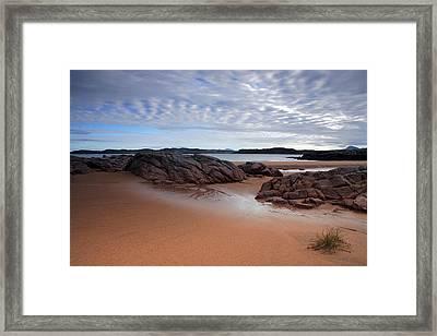 Firemore Beach Loch Ewe Framed Print