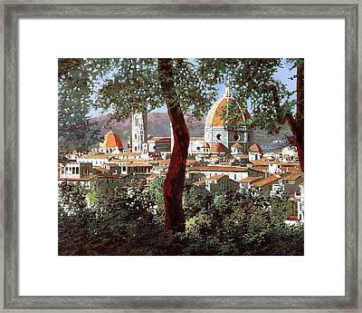 Firenze Framed Print by Guido Borelli