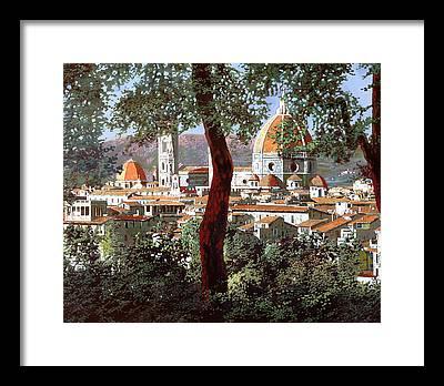 Bell Tower Framed Prints