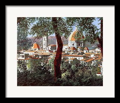 Cupola Framed Prints