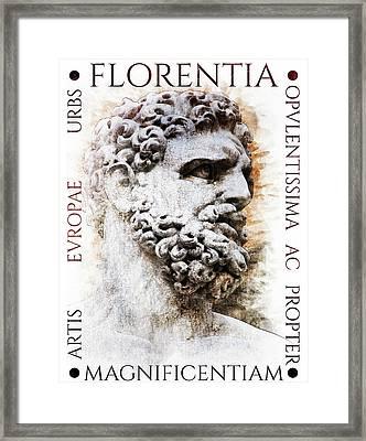 Firenze Magnifica II Framed Print