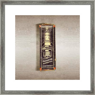 Firestone Polonium Electrodes Box Framed Print by YoPedro