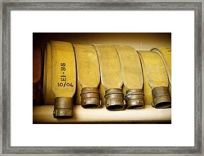 Firetruck Detail V Framed Print by Kicka Witte - Printscapes
