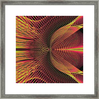 Fireweave Framed Print by Thomas Smith