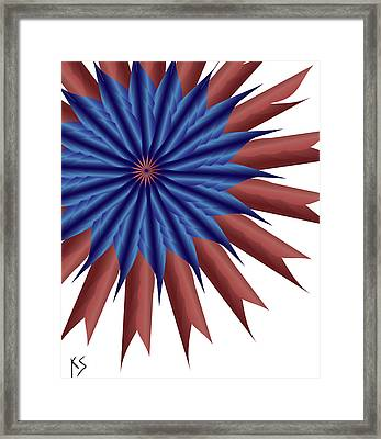Firewerx Framed Print by Kevin  Sherf