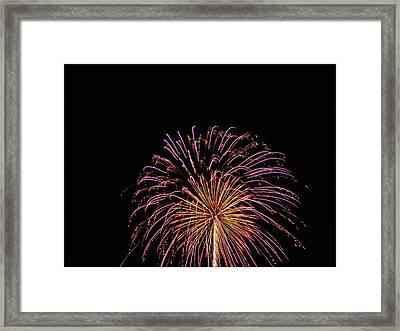 Firework 1 Framed Print