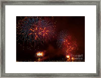 Firework 3 Framed Print