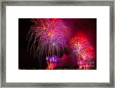 Firework 4 Framed Print by Anakin13