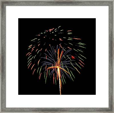 Firework 4 Framed Print