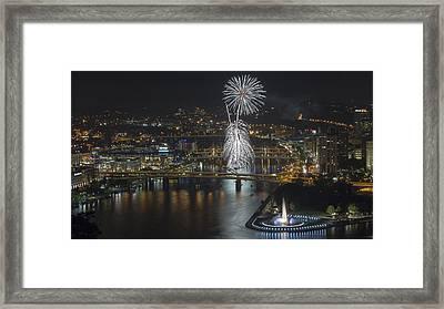 Fireworks #1 Framed Print