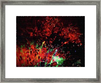Fireworks 13 Framed Print by Joan Reese