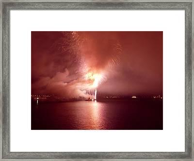 Fireworks 20 Framed Print