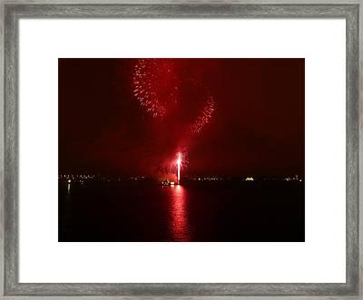 Fireworks 26 Framed Print