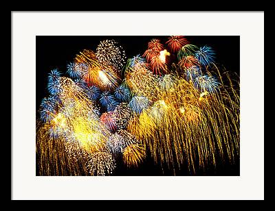 Pyrotechnic Framed Prints