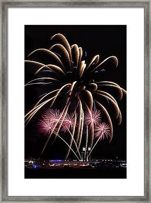 Fireworks Festivities Framed Print by Andrew Soundarajan