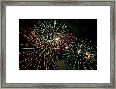 Fireworks Framed Print by Glenn Gordon