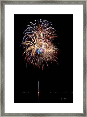 Fireworks IIi Framed Print by Christopher Holmes