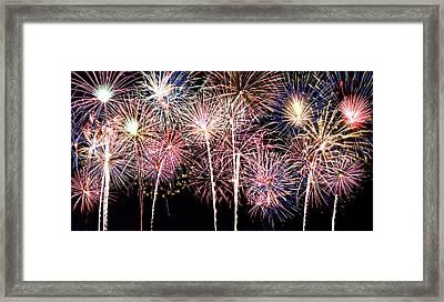 Fireworks Spectacular Framed Print