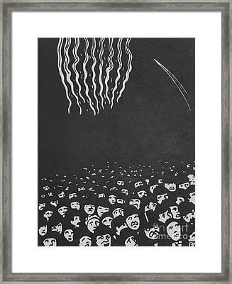 Fireworks, The World's Fair Vi, 1901 Framed Print