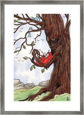 Firmly Rooted Framed Print