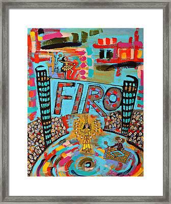 Firo The Dancer Framed Print by Maggis Art