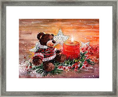 First Advent For Truffle Mcfurry Framed Print by Miki De Goodaboom