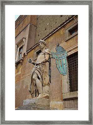First Angel Framed Print by JAMART Photography