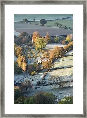 First Autumn Light Framed Print