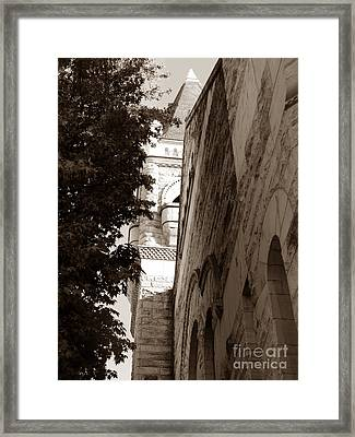 First Baptist Church Framed Print by David Bearden