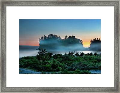 First Beach Framed Print
