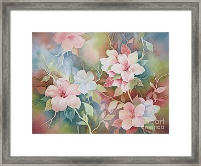 First Blush Framed Print by Deborah Ronglien