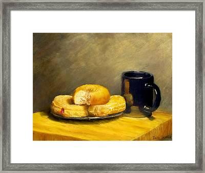 First Call...breakfast Framed Print