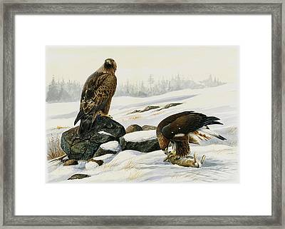 First Catch Framed Print by Dag Peterson