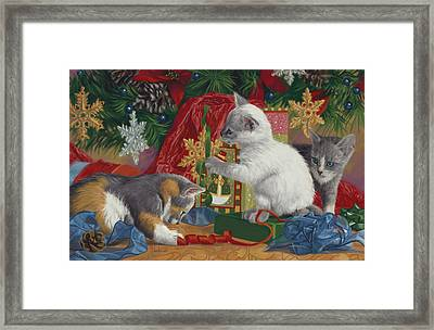 First Christmas Framed Print