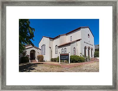 First Church Of Christ Scientist Petaluma California Usa Dsc3815 Framed Print