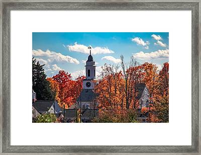 First Congregational Church Of Southampton Framed Print