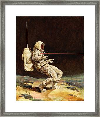 First Contact Framed Print